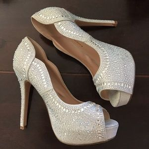 De Blossom Collection Rhinestone  Stilettos 8